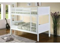 SAME DAY DELIVERY ON BRAND NEW WOODEN SINGLE Bunk Bed!! with DQ Mattress