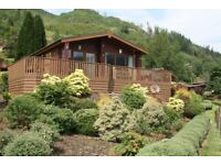 Stunning pre-owned Lodge at Drimsynie in Argyll & Butes national park on Loch goil. 5 star luxury.