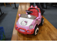 Hello Kitty Elecrtic Car/kids cars/ kids electrical car/a car for a girl (still available)