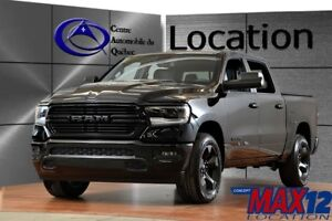 2019 Ram 1500 Sport 4X4 CREW CAB 8.4'' TOUCH MAGS 20''