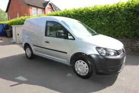 VW Caddy 1.6 TDi C20, Silver, FSH, excellent condition