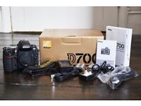 Nikon D700 *Mint Condition* Body Only. Comes with all original packaging and extras.