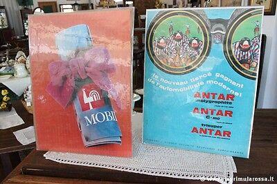 PUBBLICITA CARTACEA D'EPOCA MOBIL - ANTAR  VINTAGE FRENCH ADVERTISING