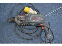 Bosch Hammer drill - 110 v