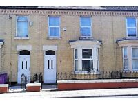 Robarts Rd, Anfield. 4 bedroom substantial terrace with gas central heating & DG. LHA welcome.