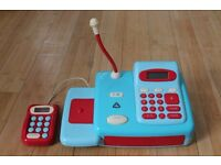 Working ELC Cash Register With Play Money
