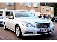 MERCEDES E220 CDI SE BLUE-EFF AUTOMATIC 4DR SALOON SATNAV FSH HPI CLEAR EXCELLENT CONDITION