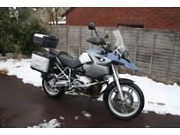 BMW R1200GS 2005 With Full Vario Pannier and Topbox Set