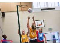 Play Social Netball in Brand New Putney League!