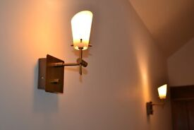 Wall lamps with dimmer