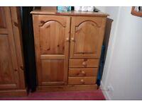 Pine Bedroom Cabinet