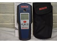 BOSCH DMF 10 DETECTOR FOR WOOD , METAL , CABLES.