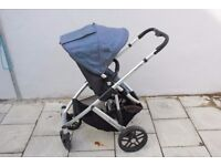 Uppababy Vista double /twin/single buggy /pram/pushchair & extras