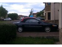 American-built sports car - Chrysler Sebring 2LX Convertible - UK registered.