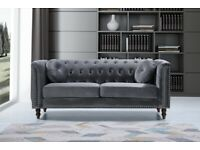 💎💎 Florence sofa | 3+2 seater in grey colour |