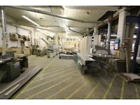Cabinet Maker or Joiner Bench to Rent in Professional Woodworking Workshop in East London