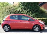 Toyota Yaris VVT-I ICON PLUS (red) 2014-05-27