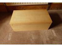 IKEA Beech Effect Storage Box