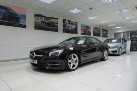 MERCEDES-BENZ SL CLASS 3.5 SL350 AMG Sport 2dr Auto (black) 2014