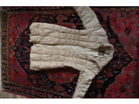 Mon Cler Quilted Down Coat Size Small