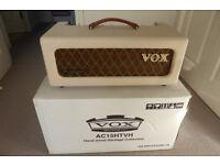 VOX HERITAGE HANDWIRED AC 15 HTVH TV FRONT ANNIVERSARY AMP HEAD.