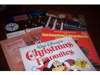 7 ASSORTED CHRISTMAS VYNL RECORDS