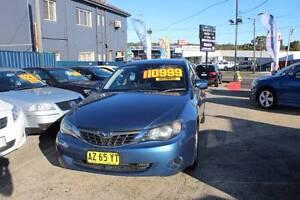 2008 Subaru Impreza Sedan Five Dock Canada Bay Area Preview