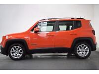 JEEP RENEGADE 1.6 M-JET LONGITUDE [NAV] 5d 118 BHP (orange) 2015