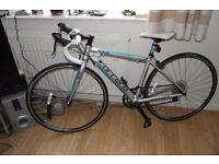 Carrera Zelos girls/ladies road racing bike, Frame 43cm purchased in may 2016