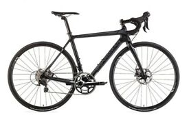 New Boardman Pro Carbon Mens Road Bike EX DISPLAY Shimano RS505 hydraulic disc 105 gear 22 gears