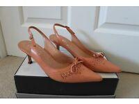 Ladies faith slingback shoes