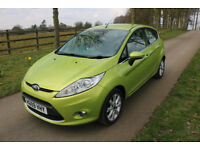 2009 Ford Fiesta Zetec 1.4TDCi 5 Door Diesel Green £20 Tax / Cheap to run & insure / 164k
