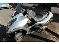 Piaggio Three wheeler -MP3-125 , in leyton area , would like to sell