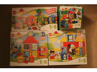 NEW LEGO DUPLO BUNDLE - PLAYHOUSE, MY FIRST FARM, NUMBER TRAIN, ALL IN ONE SET