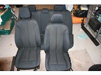 BMW 3 series f30 SE model seats - full set