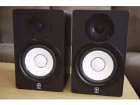 Yamaha Studio Monitors HS50M Pair - Reference Flat Response Recording Studio Speakers