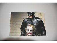 The Dark Knight Batman and Joker Canvas