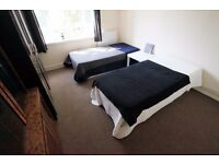 LARGE TWIN ROOM TO RENT IN ARCHWAY AREA WITH 10 MIN WALK TO THE TUBE STATION. 4B