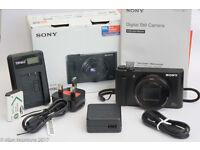 Sony Cybershot DSC-HX90, excellent condition.