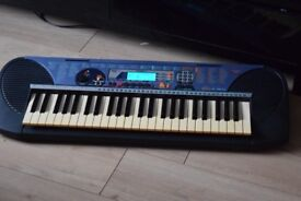 YAMAHA PSR-140 KEYBOARD WITH POWER ADAPTER/CAN BE SEEN WORKING
