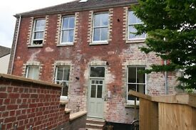 Beautuful self contained new 1 bed flat on 2 levels. Part of an excting Cohousing Community.