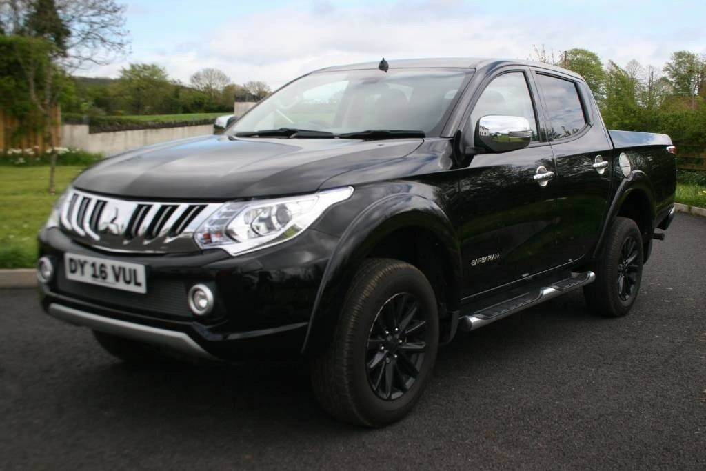 2016 Mitsubishi L200 Barbarian Manual 4x4 Crew Cab Pickup