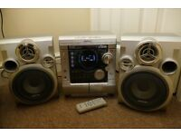 Samsung MAX-ZJ550 CD/Radio/Cassette player