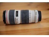 CANON EF 70-200mm F4 LUSM. Lens for sale