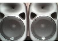 2 wharfdale pro titan speakers