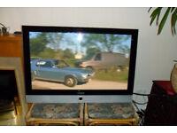 TV SAMSUNG 42 inch + NEW remote + wall mount bracket