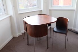 Dining table + chairs - Great condition - Must Go, moving out