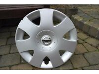 NISSAN wheel trim - single