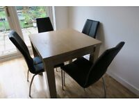 Next Dining Table and Chairs £60