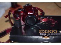 NIKON D3200 Digital SLR Camera 18-5511 KIT + Extra Lens and Accessories